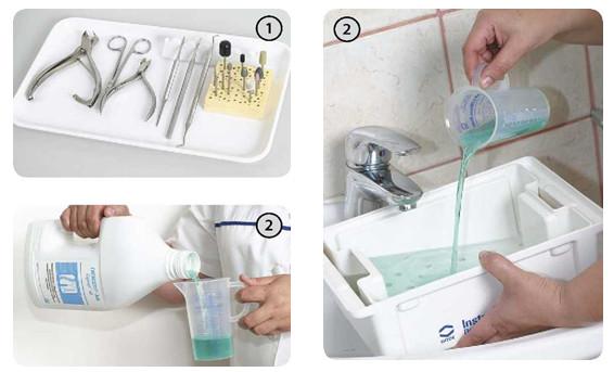Три этапа обработки инструментов