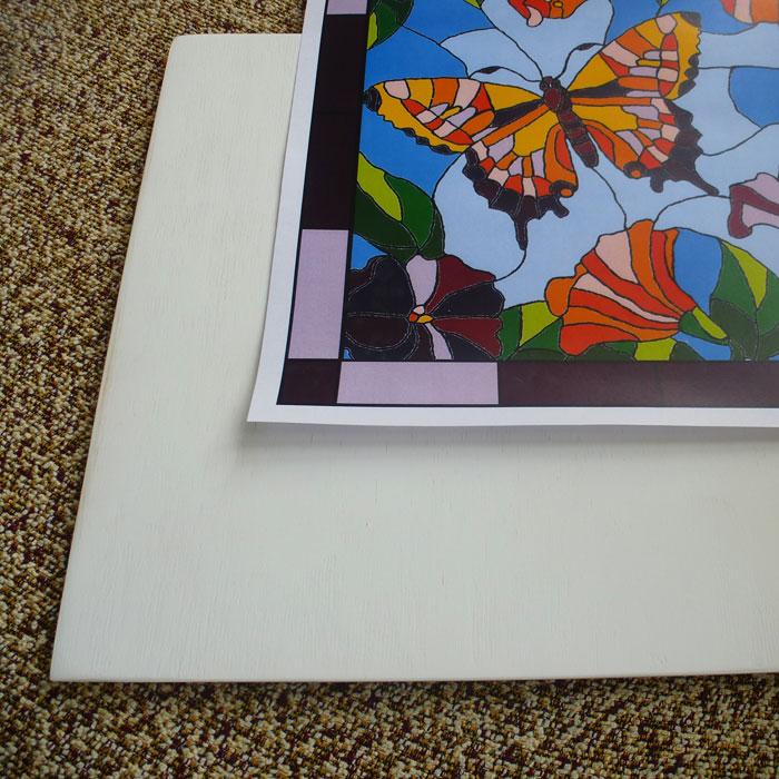 Мастер-класс по готовому набору для росписи в технике имитации перегородатой эмали