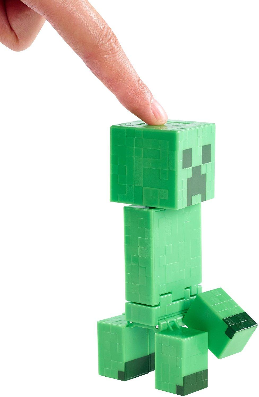 Сброная 13-сантиметровая фигурка Майнкрафт Взрывающийся Крипер