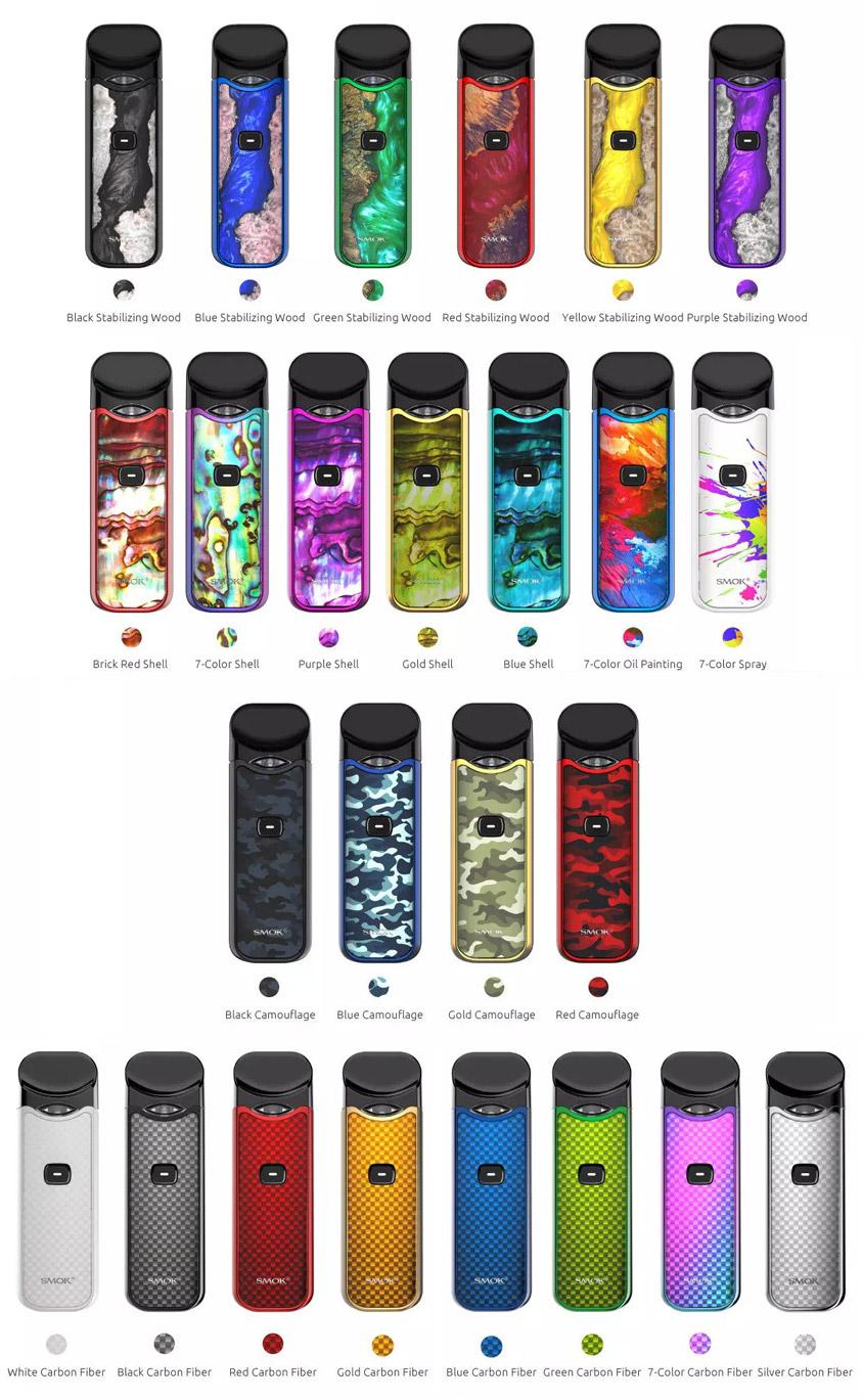 SMOK Nord Kit - New Colors