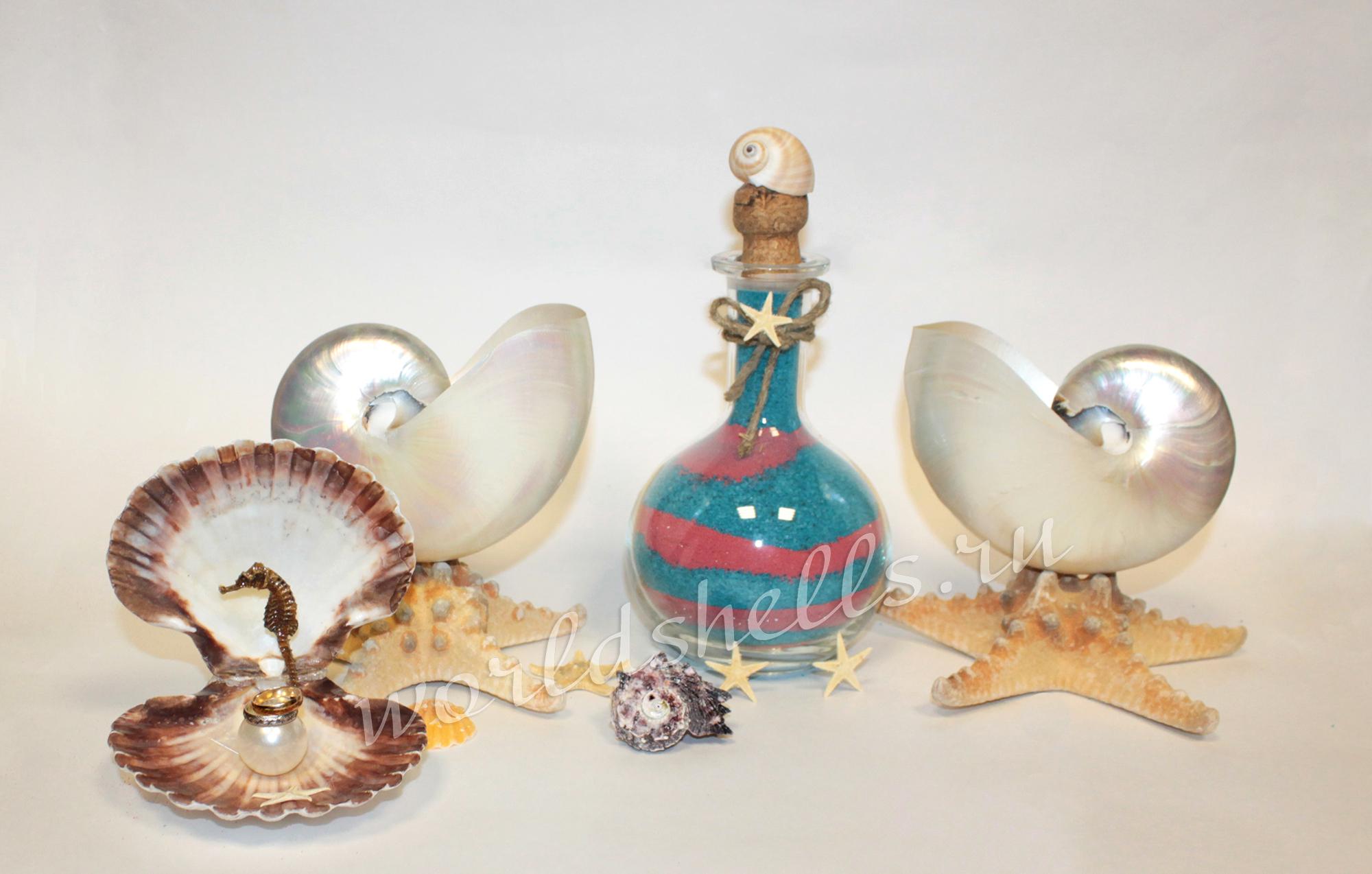 Морская свадебная песочная церемония