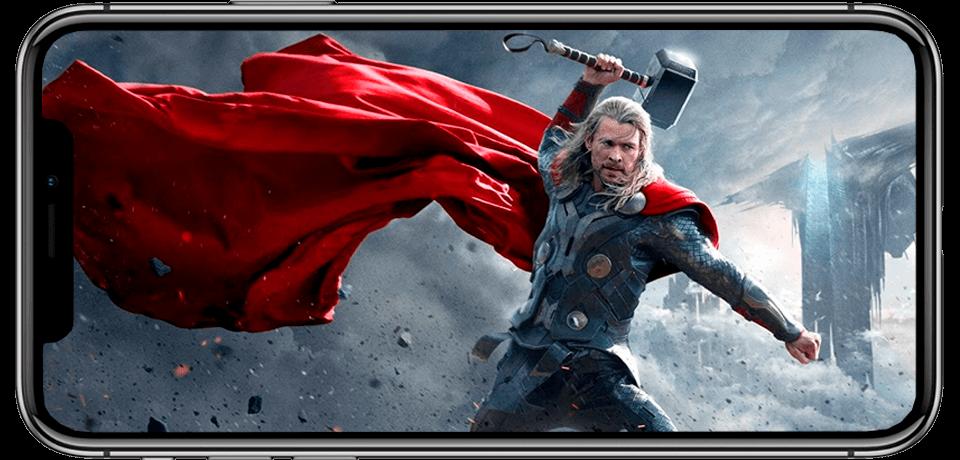 Видео в ультра HD качестве в новом айфоне 10