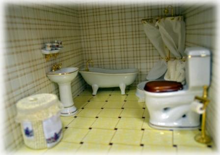Ванна комната с душевой кабиной