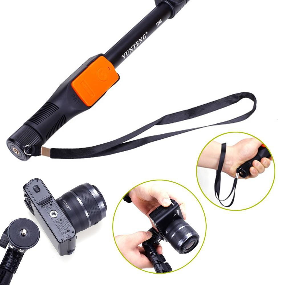 Selfie Stick Yunteng Bluetooth (YT-1288) – монопод, управляемый с по мощью Bluetooth пульта. Обзор, характеристики