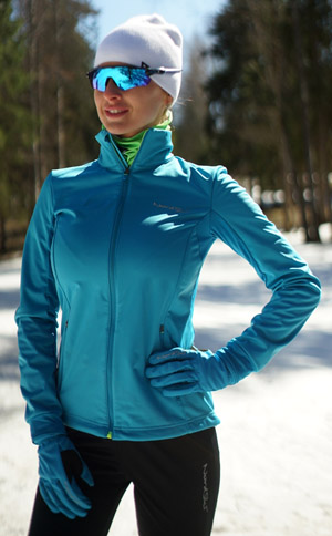 Утеплённый лыжный костюм Nordski Motion Breeze-Black женский NSW436735 - ИМ SkiRunner