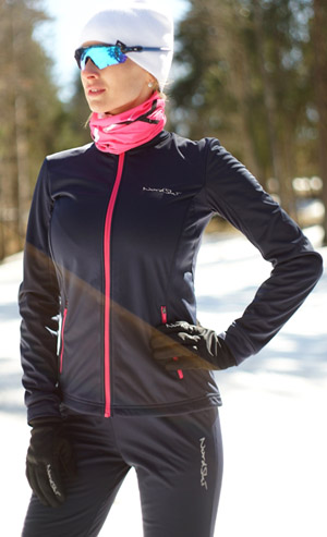 Детский утеплённый лыжный костюм Nordski Motion BlueBerry-Pink NSJ437937 - ИМ SkiRunner