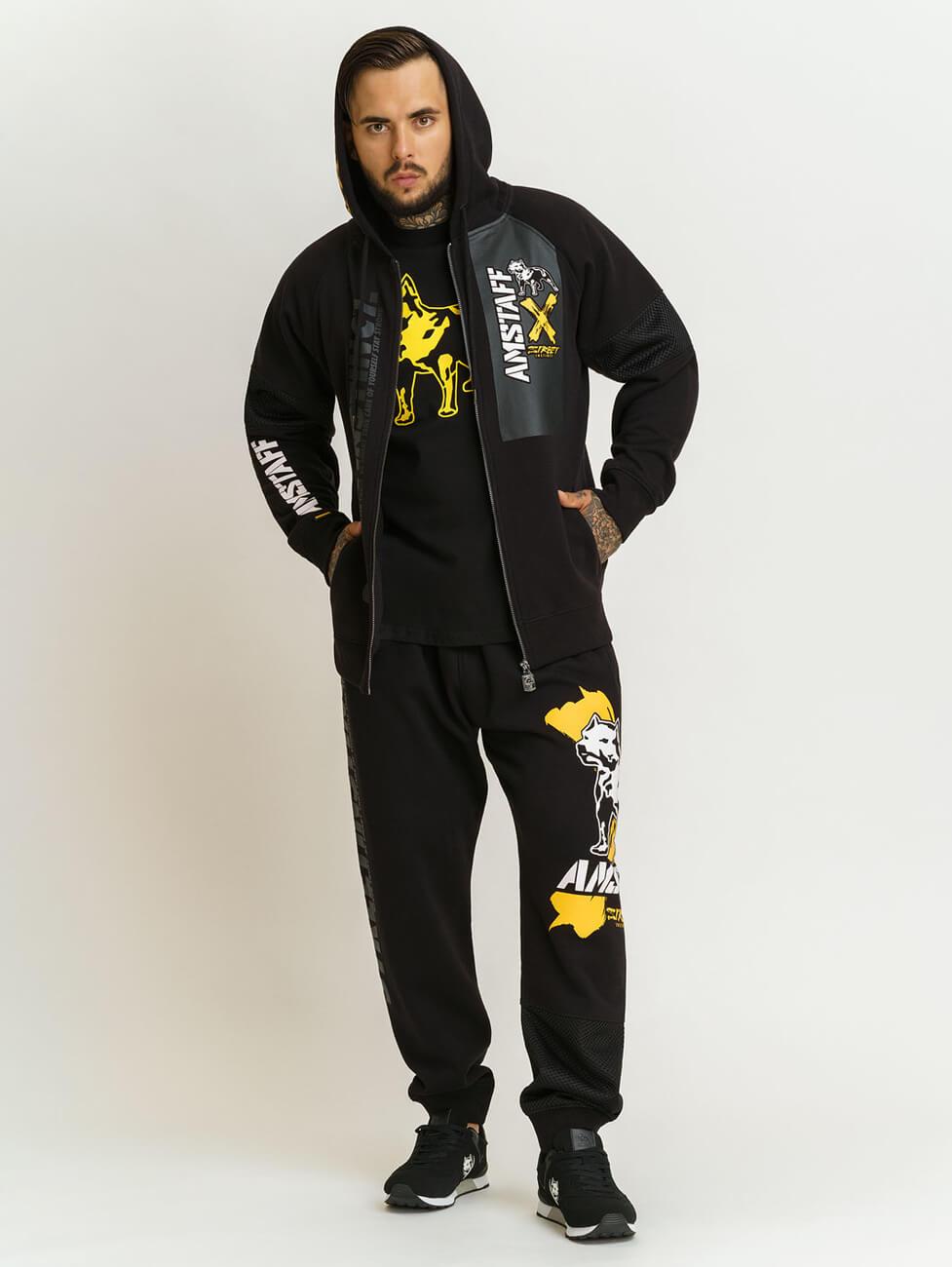 Спортивный костюм с надписями мужской Amstaff Orat