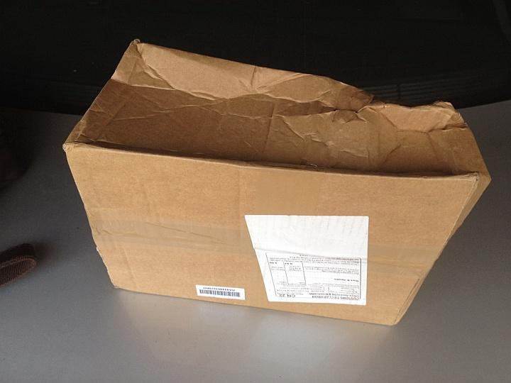 При повреждении упаковки нет гарантии, что товар пришел в рабочем состоянии