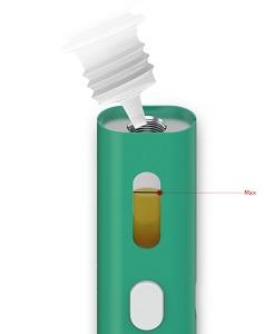 iCare Solo заправка жидкостью