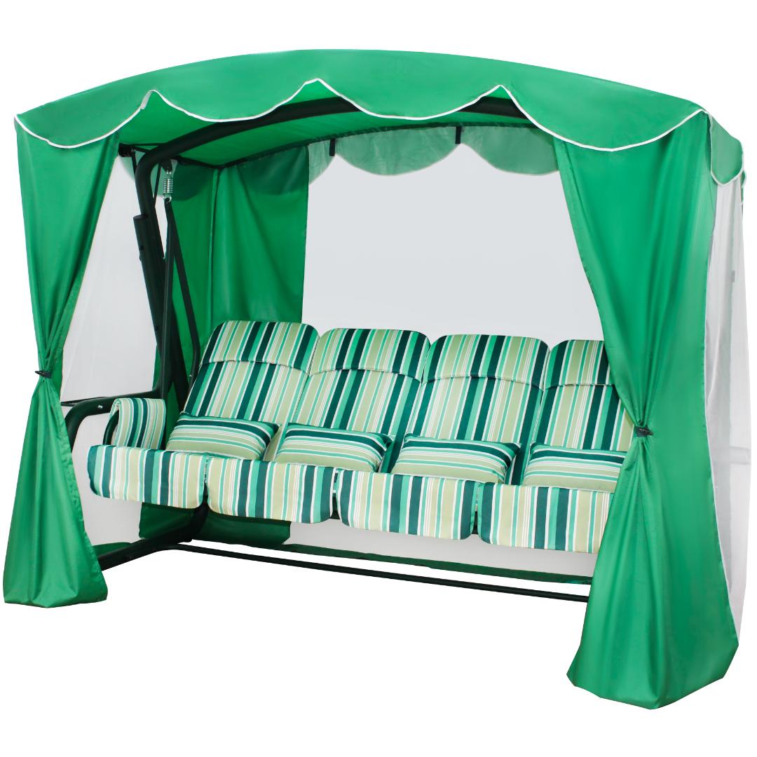 Монарх зеленый сбоку
