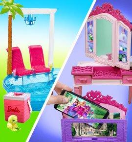 Мебель для кукол Барби