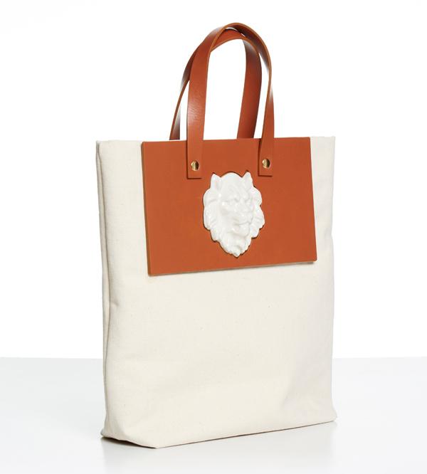 Сумка-шоппер-из-кожи-Tote-Lion-Canvas-от-дизайнера-ANDRES-GALLARDO-профиль-SS16.jpg