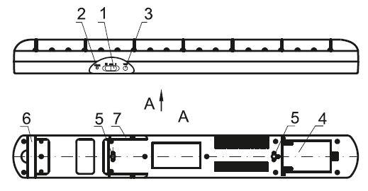 Устройство светильника ДБА 3927