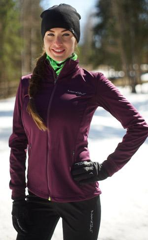 Утеплённый лыжный костюм Nordski Motion Purple-Black женский NSW436733 - ИМ SkiRunner