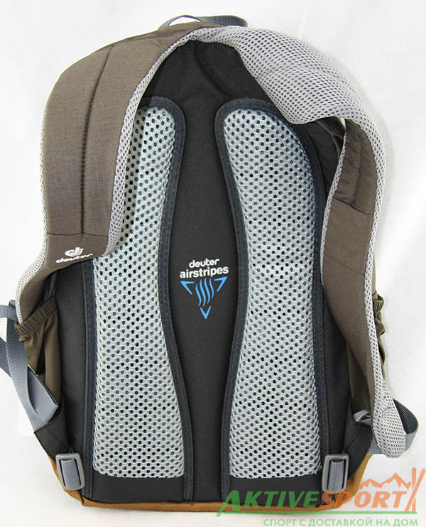 Спина и лямки рюкзака deuter Step out 16