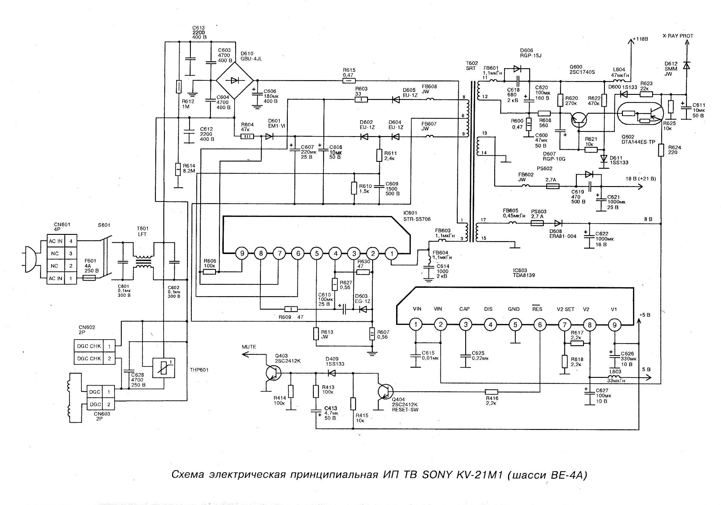 Схема телевизора сони бравиа фото 169