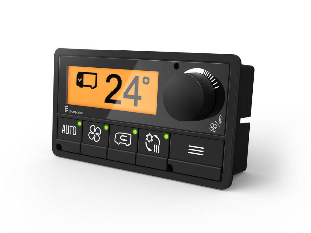 Eberspaecher Suetrak представляет новую платформу E-Control 1