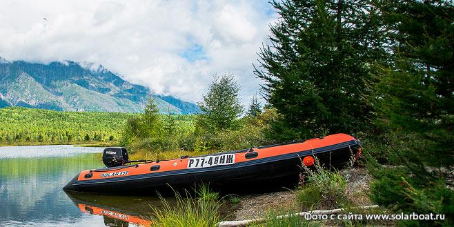 Лодка Солар по цене официального сайта