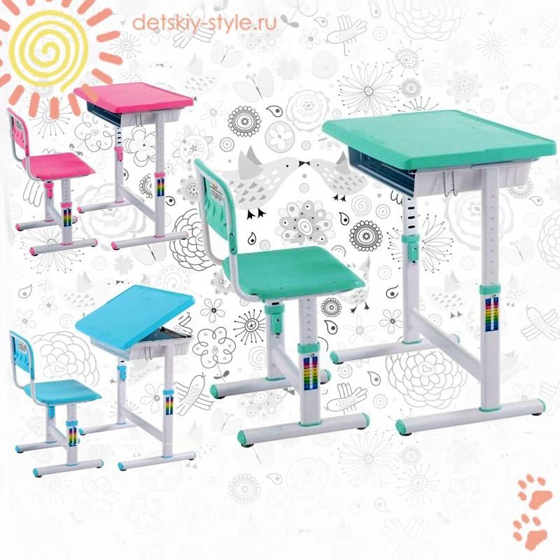 детская парта libao d-08/c05, купить, цена, комплект, детская парта либао со стулом, стол трансформер детский d08/c05, дешево, отзывы, заказать, заказ, стоимость