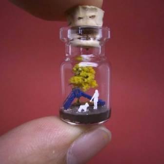Крошечный мир в бутылке («Tiny World In A Bottle») Акинобо Изуми (Akinobu Izumi)