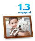 1.3-megapixel photos