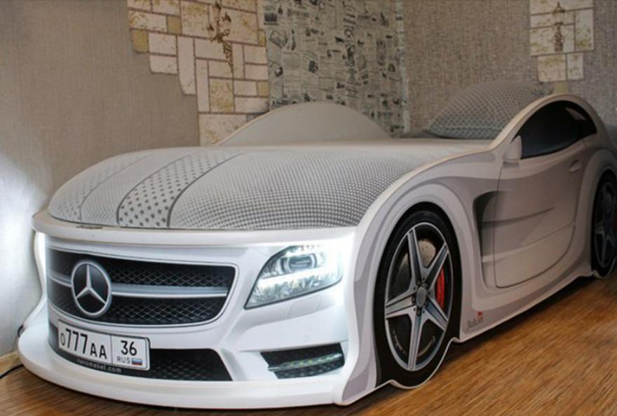 кровать-машинка купить в СПб