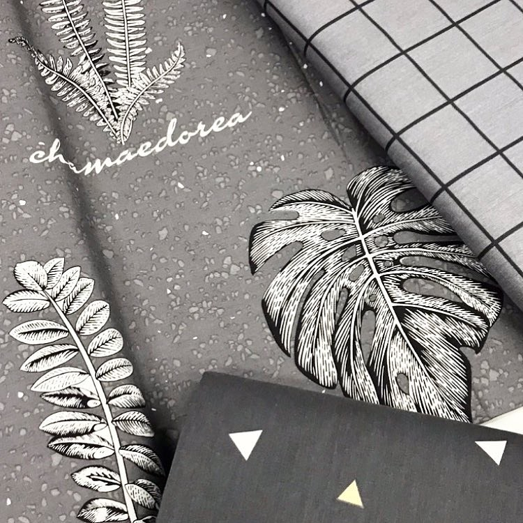 Ткань хлопок в скандинавском стиле для постельного белья