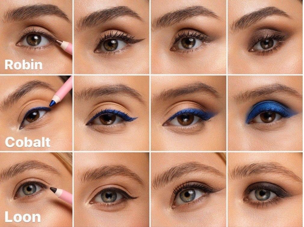 Как подобрать карандаш под цвет глаз