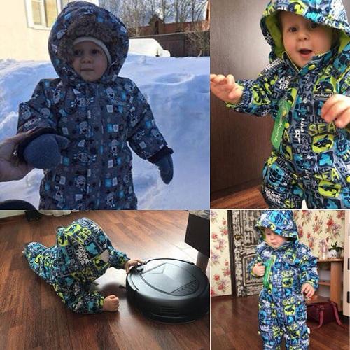 Комбинезон Premont зимний и демисезонный (фото от клиентки)
