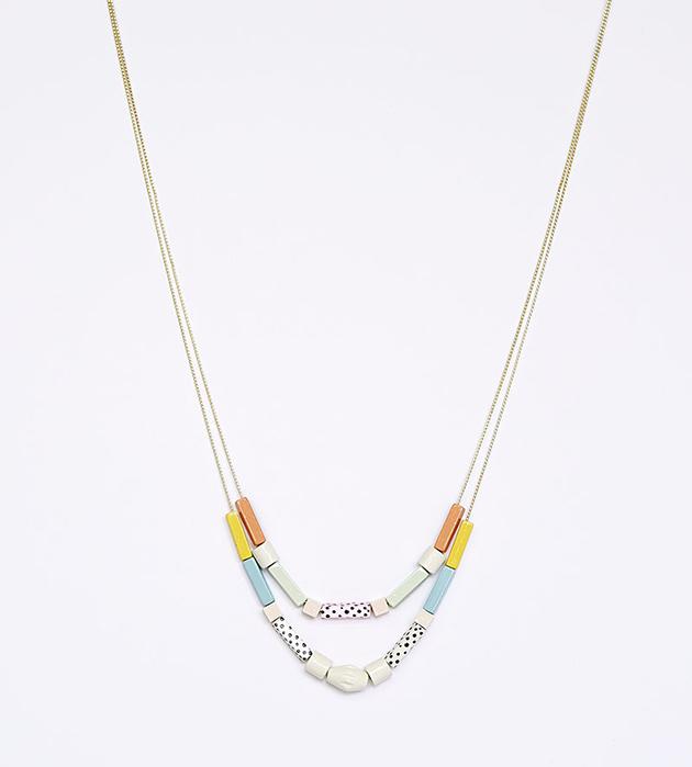 изящное ожерелье из дерева Congo от Apres Ski