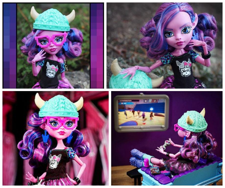 Кукла Къерсти Троллсон в Магия кукол