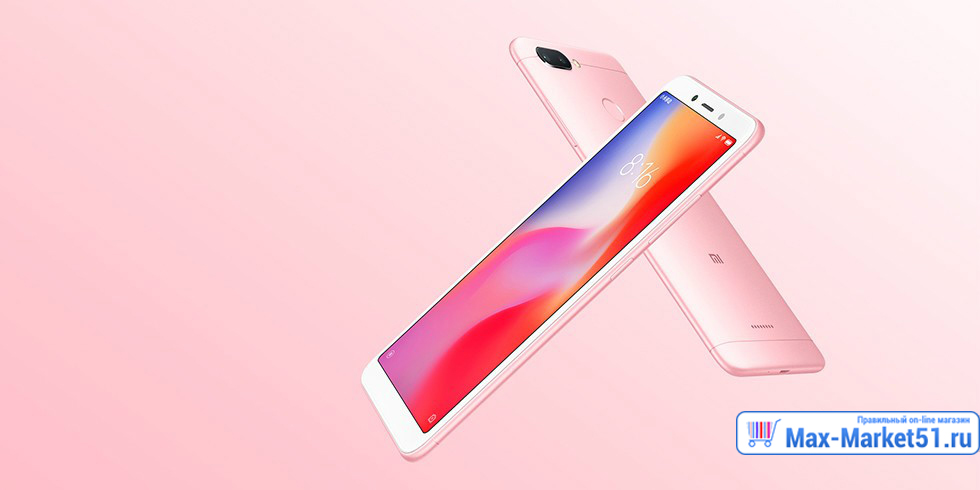Xiaomi Redmi 6 3 / 32GB (серый/grey)