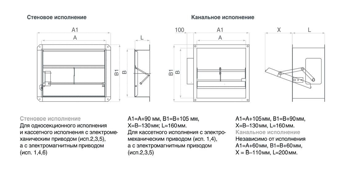 Схема клапана КДМ-2(90)-НЗ-550-440-165-ЭМ(12/24/220)-Н