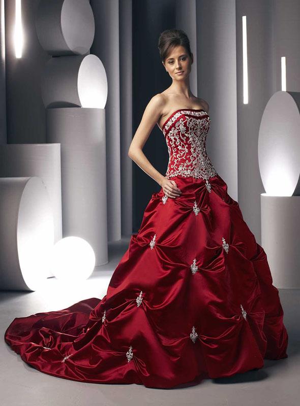Приметы свадебного платья цвета