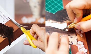 Как сделать папертоль. Шаг1 — Вырезать.