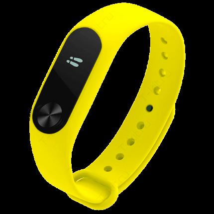 Умные часы Xiaomi Mi Band 2 yellow (желтый)