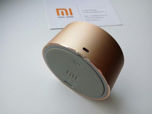Портативная колонка xiaomi mi bluetooth portable: краткий обзор и характеристики