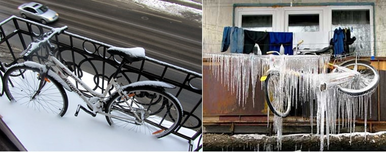 Где и как хранить велосипед зимой или между катаниями?.