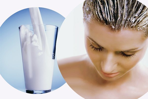 Польза кефира для ухода за волосами