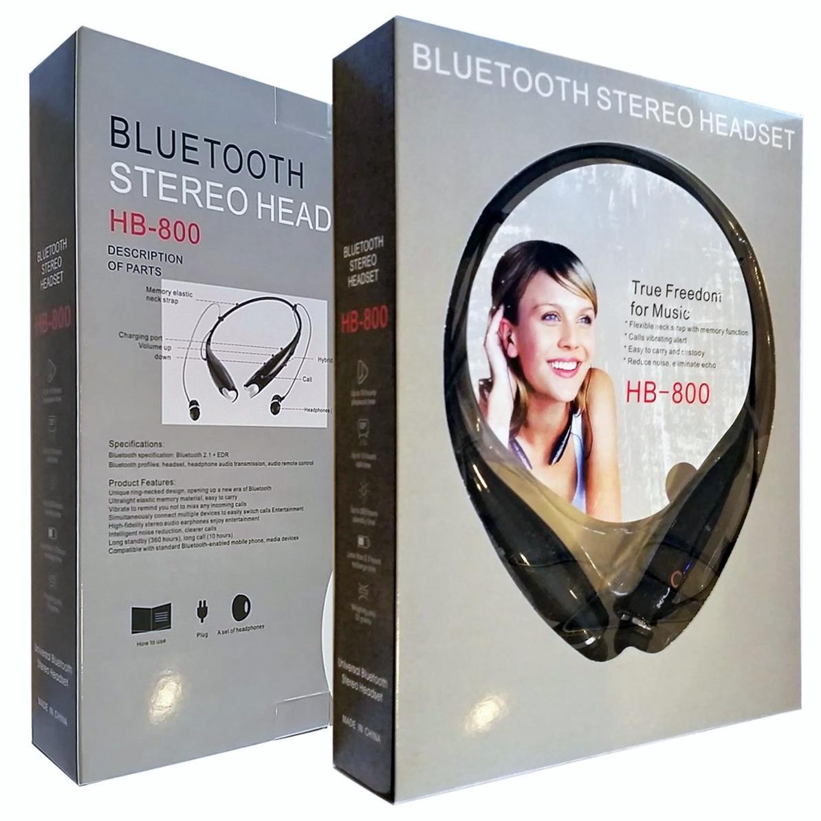 Беспроводная гарнитура Bluetooth stereo headset HV-800 оптом