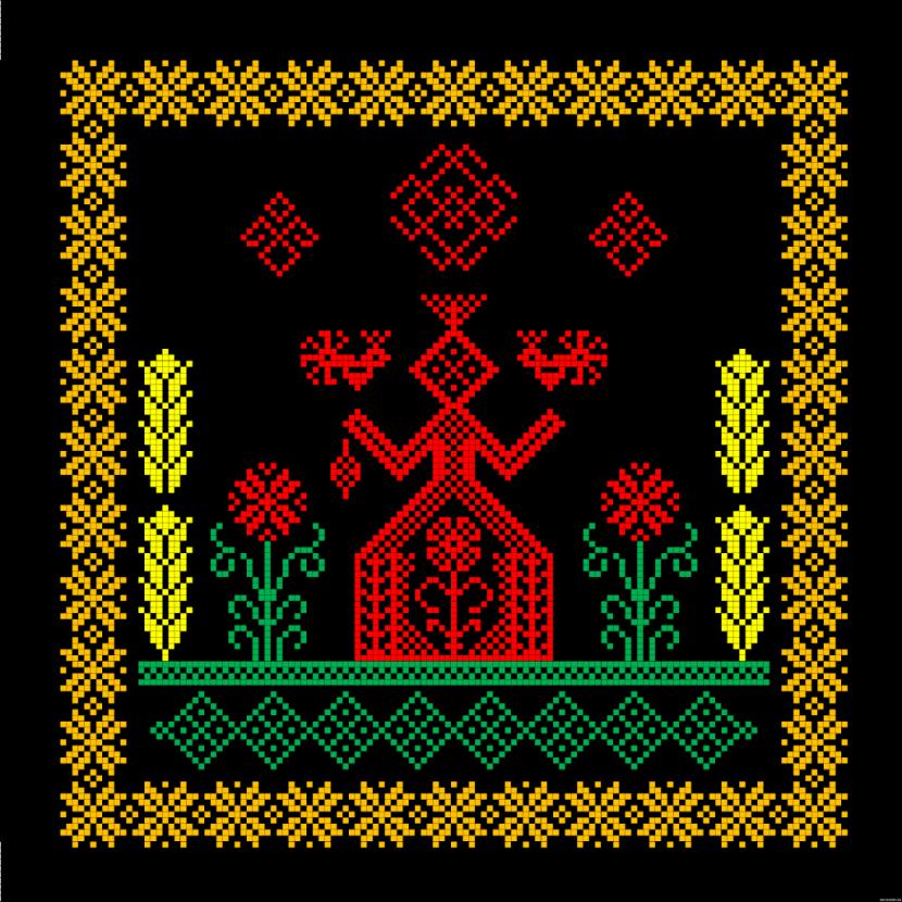Схемы вышивки иванушки
