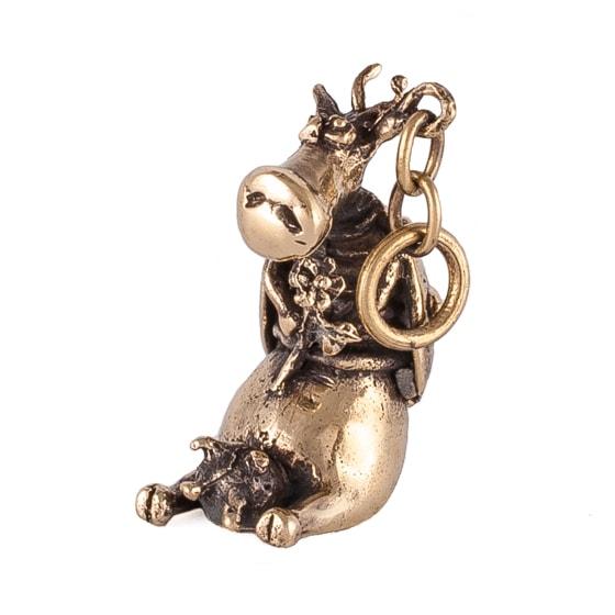 Коровка божья, бронзовый кулон.