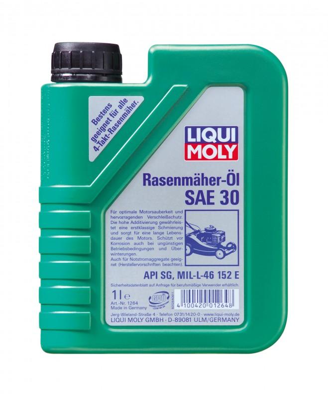 SAE 30 - летнее масло для косилки газона