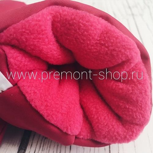 Флисовая подкладка внутри варежек Premont