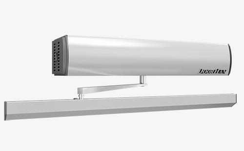 Компания DoorHan запустила в серийное производство обновленное программное обеспечение для блока управления электромеханического привода для распашных дверей AD-SWING. Была также улучшена и усилена конструкция крепления рычага к валу привода. Изделие стало еще практичней и удобней в эксплуатации.  В ПО новой версии реализованы возможности: • синхронизация двух приводов (ведущий-ведомый) при автоматизации двустворчатых распашных дверей с возможностью регулировки интервала по времени между ведомым и ведущим приводом; • тестирование привода после монтажа и проведение сервисного обслуживания при помощи кнопки Test; • регулировка уровней сопротивления ветровой нагрузки, • регулировка угла открывания/закрывания в буферной зоне, • регулировка времени повторного открывания/закрывания двери после срабатывания привода по усилию.  Инструкция на продукт доступна по ссылке.  Более подробную информацию о приводе вы можете узнать, посмотрев видеообзор.