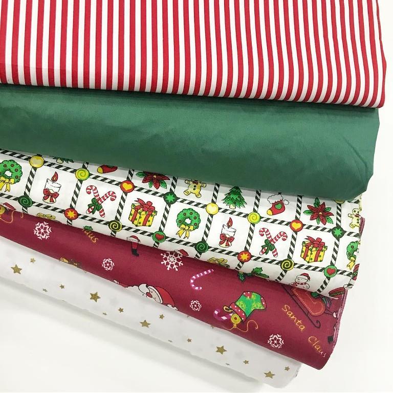 Купить новогоднюю ткань