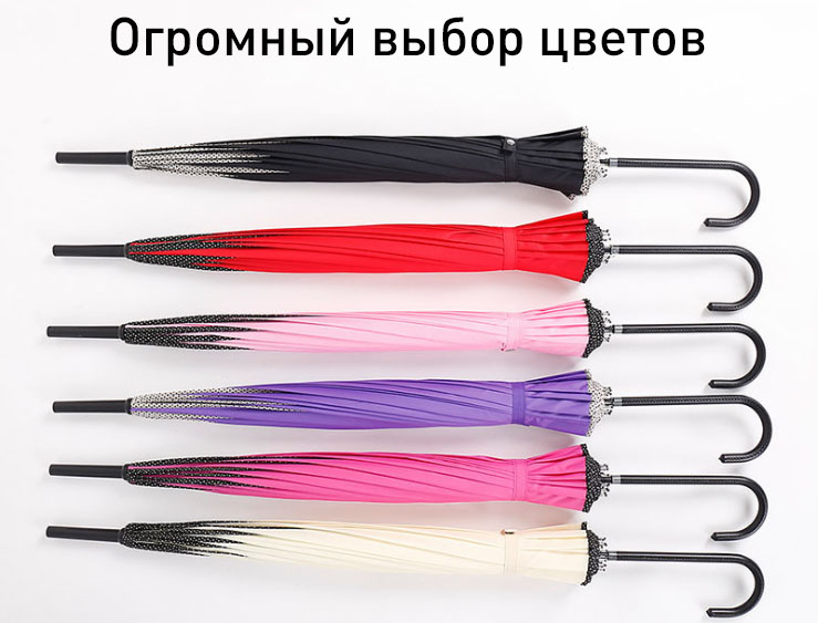 Зонт трость традиционный бежевый   ZC Traditional design