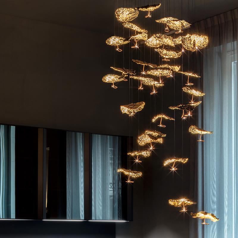 Светильник Gold Moon Chandelier от Catellani&Smith