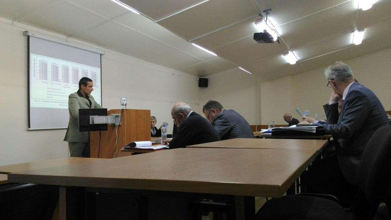 Защита кандидатской диссертации Королёва Евгения Юрьевича - 1