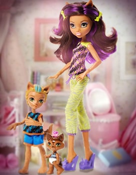 Набор кукол Клодин (Семейка Монстров), Monster High